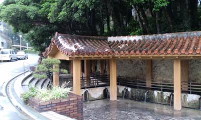 金武町指定文化財 ウッカガー(金武大川)8